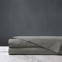 Shiloh Linen Flat Sheet in Cement