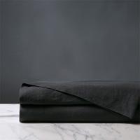 Shiloh Linen Flat Sheet in Charcoal