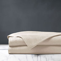 Shiloh Linen Flat Sheet in Natural