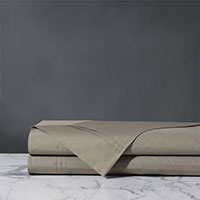 Vail Percale Flat Sheet In Fawn