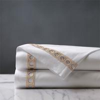 Celine Lace Flat Sheet in Champagne