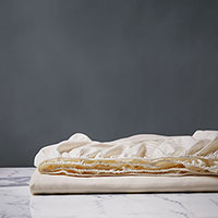 Emilio Ivory Fitted Sheet