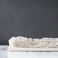Elodie Percale Fitted Sheet