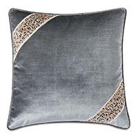 Indochine Velvet Decorative Pillow
