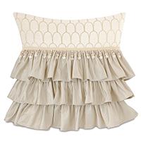 Jolene Ruffled Decorative Pillow