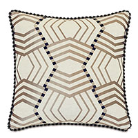 Kimahri Embroidered Decorative Pillow