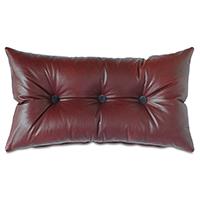 Kilbourn Leather Decorative Pillow