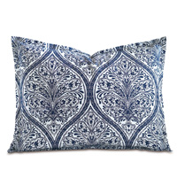 Adelle Percale King Sham In Marine