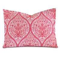Adelle Percale King Sham In Sorbet