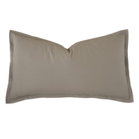 Vail Percale King Sham In Fawn
