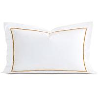 Linea White/Antique King Sham