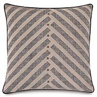 Maddox Diagonal Pleat Decorative Pillow