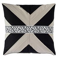 Maddox Mitered Pleat Decorative Pillow