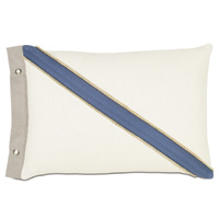 Maritime Coastal  Accent Pillow In Ivory