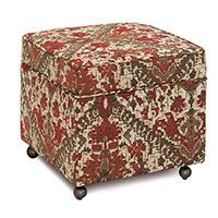 Douglas Paprika Storage Boxed Ottoman