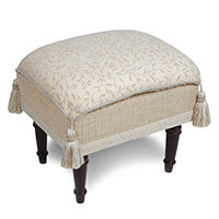 Hayes Blossom Pillow Top Stool