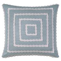 Penelope Mitered Trim Decorative Pillow