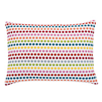 Paloma Embroidered Decorative Pillow