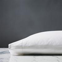 Roma Sateen Pillowcase in White