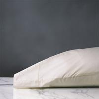 Gianna Hemstitch Pillowcase in Ivory