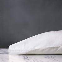 Gianna Hemstitch Pillowcase in White