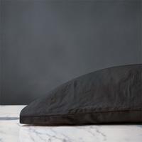 Shiloh Linen Pillowcase in Charcoal