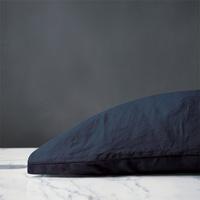 Shiloh Linen Pillowcase in Indigo