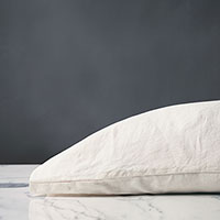 Shiloh Linen Pillowcase in Shell