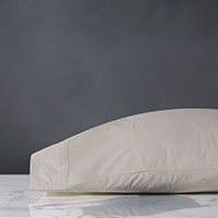 Vail Percale Pillowcase In Bisque