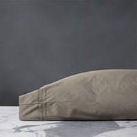 Vail Percale Pillowcase In Fawn