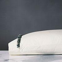 Elodie Brush Fringe Pillowcase