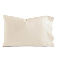 Fresco Luxe Ecru Pillowcase