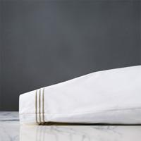 Tessa White/Sable Pillowcase
