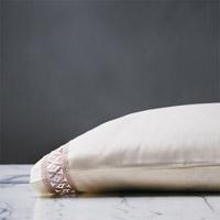 Juliet Ivory/Fawn Pillowcase