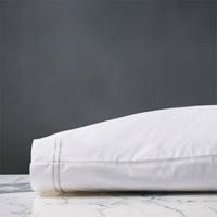 Enzo White/White Pillowcase
