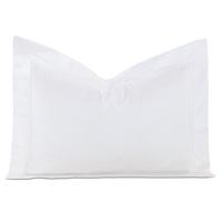 Lusso Sateen Queen Sham in White