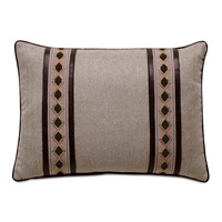 Rudy Border Accent Pillow In Neutral