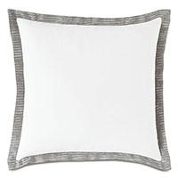 Saya Flange Decorative Pillow