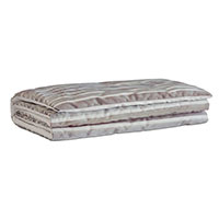 Gaia Sterling Bed Scarf