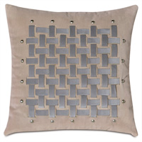 Safford Basketweave Decorative Pillow