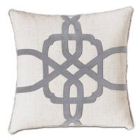 Safford Lasercut Decorative Pillow