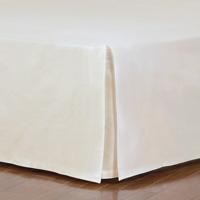 Fresco Classic Ecru Straight Bed Skirt