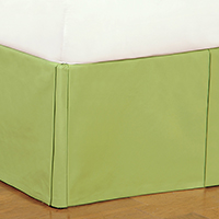 Harley Lime Bed Skirt