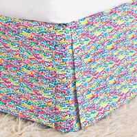 Gigi Speckled Bed Skirt