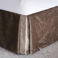 Teryn Velvet Bed Skirt