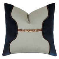 Steeplechaser Saddle Decorative Pillow