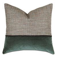 Steeplechaser Colorblock Decorative Pillow