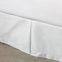Gianna White Pleated Skirt Panels