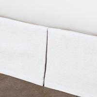Leonara White Pleated Skirt Panels