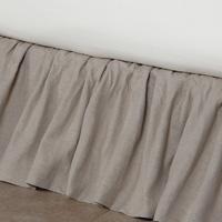 Leonara Natural Ruffled Skirt Panels